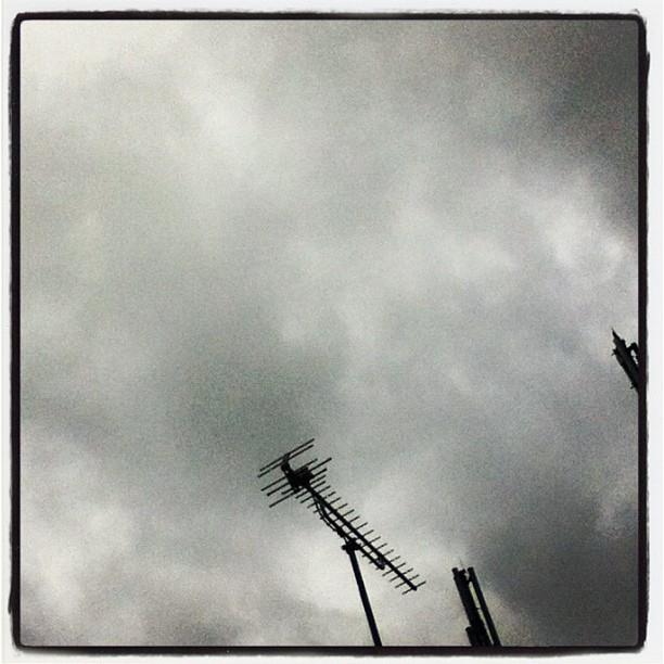 Good! #morning! #clody #sky #like #monocrome