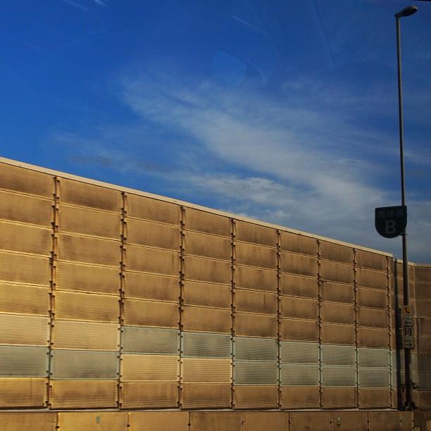 Wall / #wall #sky