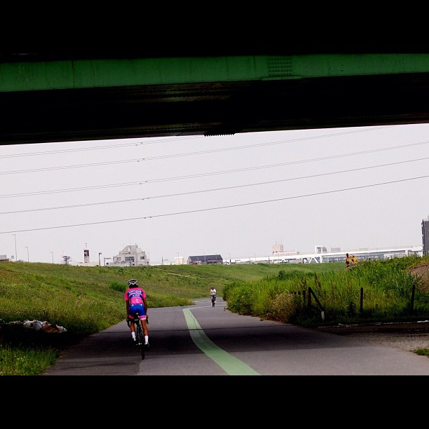 #Roadbike of the #road under the road. #bicycle