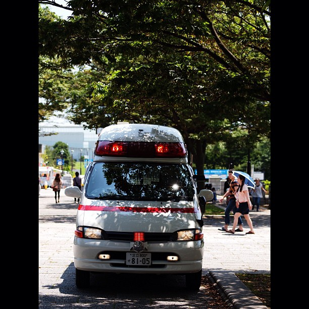 #Ambulance of the #summer. #car