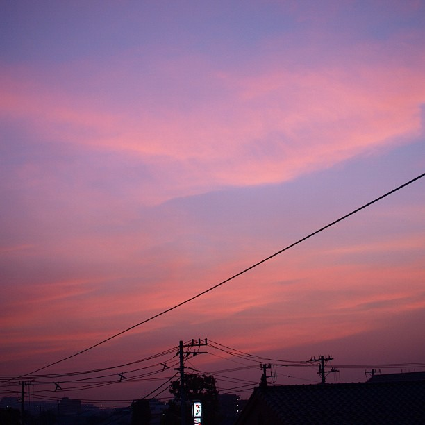 Someday the #sky #sunset #red #cloud #