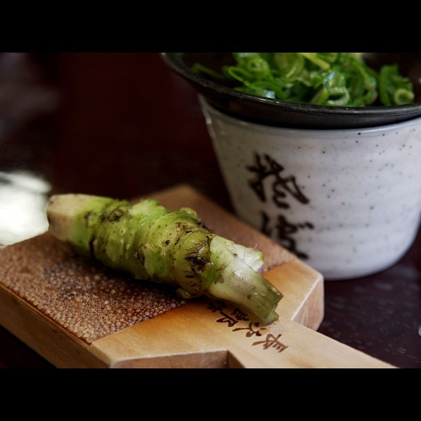 The #WASABI. #Japanese #horseradish