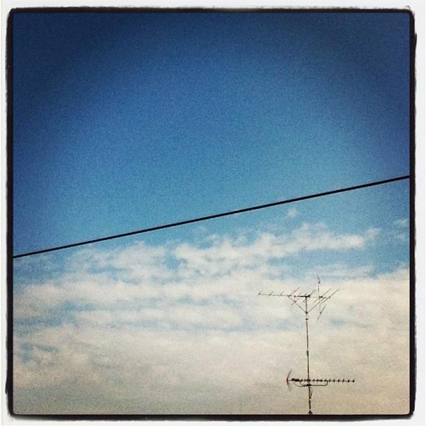 Good Morning!! / #morning #sky #cloud #blue