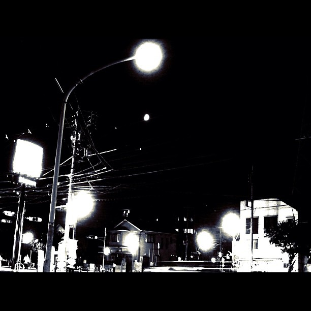 Night / #night #bw #blackwhite #monochrome