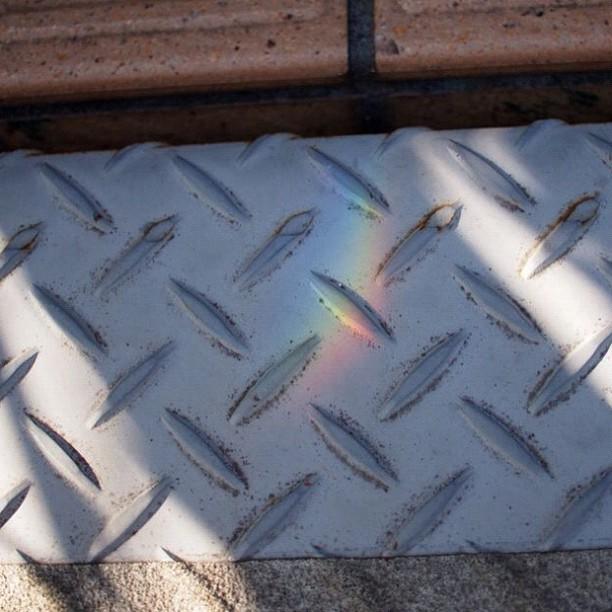 Rainbow fell #rainbow