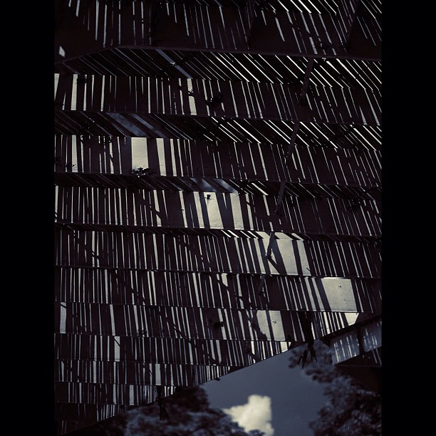Shade / #shadow #sky #cloud #bw#blackwhite#blackandwhite#monochrome