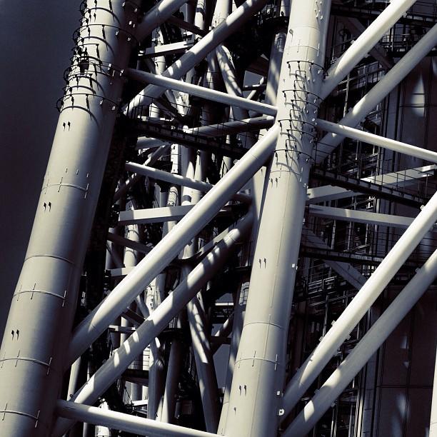 Structure of Skytree / #skytree #bw#blackwhite#blackandwhite#monochrome