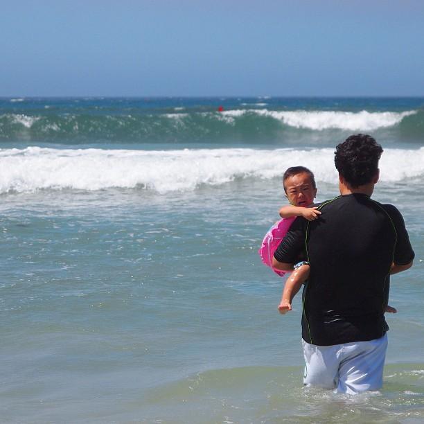 I hate Sea!! / #kids #sea #summer