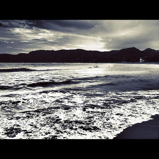 #sea #beach #bw #blackandwhite #monocrome