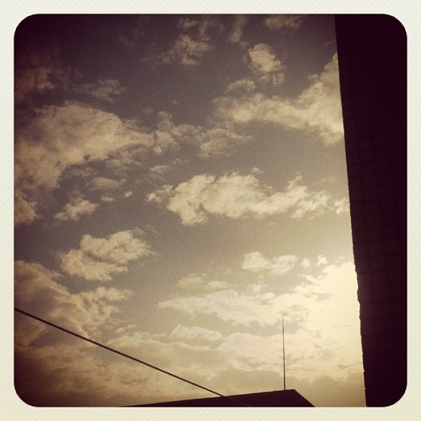 Good morning! / #sky #cloud #sun #morning # #