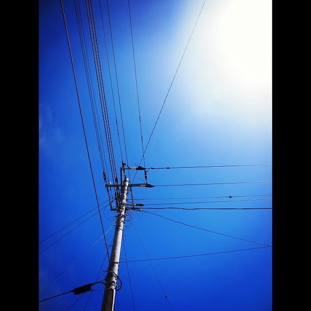 Blue sky!! / #blue #sky
