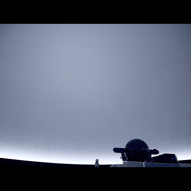Empty Universe / #planetarium #soramachi #bw#blackwhite#blackandwhite#monochrome