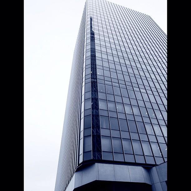 Narrow Skytree / #skytree #bw#blackwhite#blackandwhite#monochrome