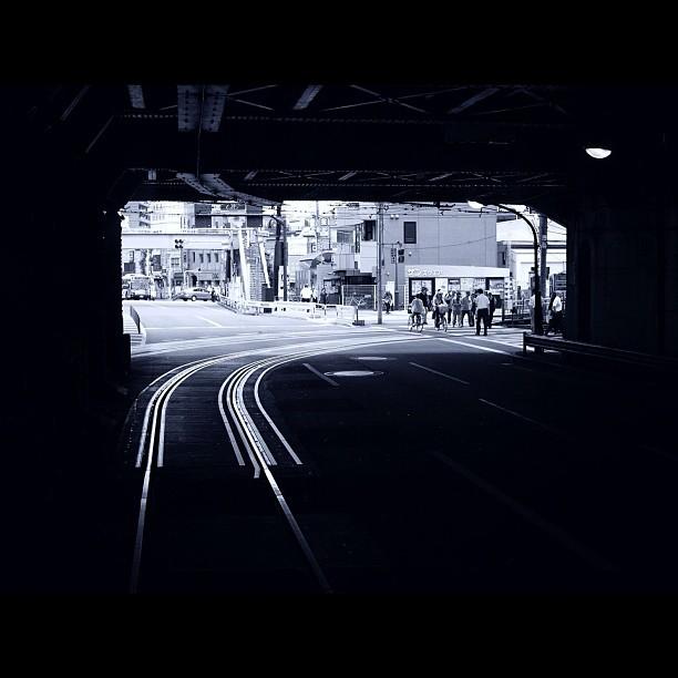 Line / #bw #blackandwhite #monochrome