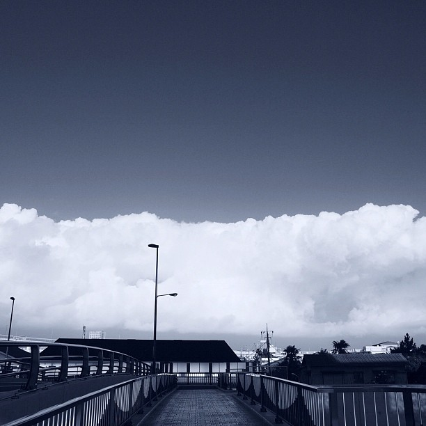 Wall of clouds