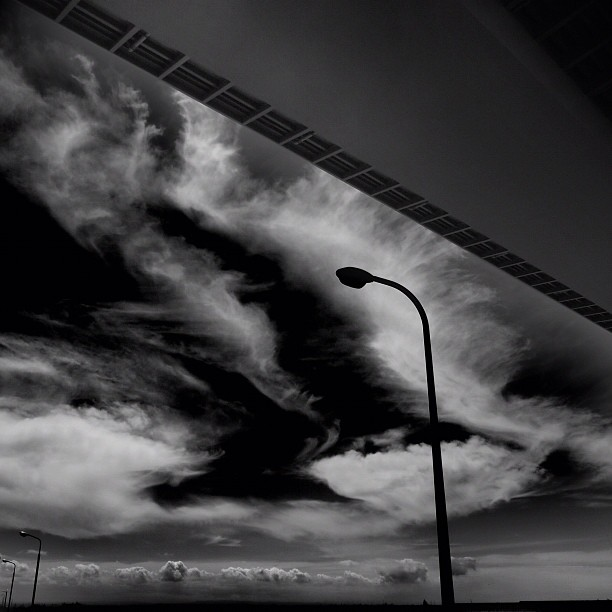 Uneasy sky