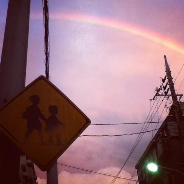 #rainbow #sky ##
